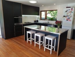 Kitchen without handles